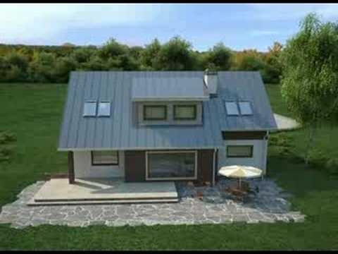 Projekty Z500 - projekt domu Z68