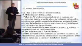UNIDAD 6 - Organización y Gestión de Centros - Masterprof UMH.