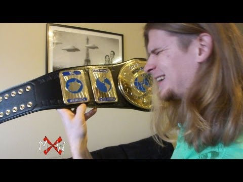 WWE Intercontinental Commemorative Title Belt Review