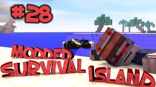 Survival Island Modded - Minecraft: Cave Survival Part 28
