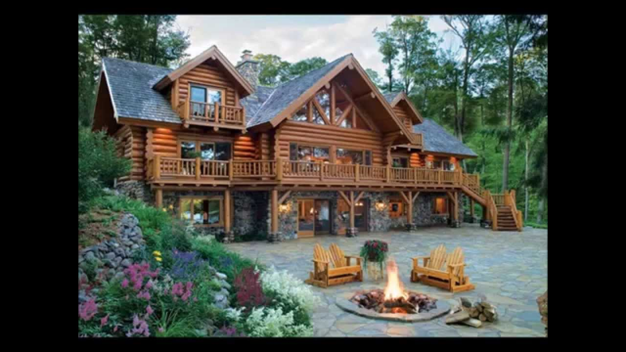 Minnesota log homes youtube for Minnesota lake cabin for sale