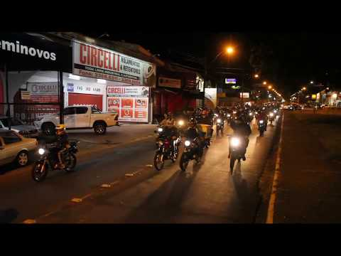 Vídeo Motociclistas prestam homenagem à jovem vítima de acidente em São Carlos, SP