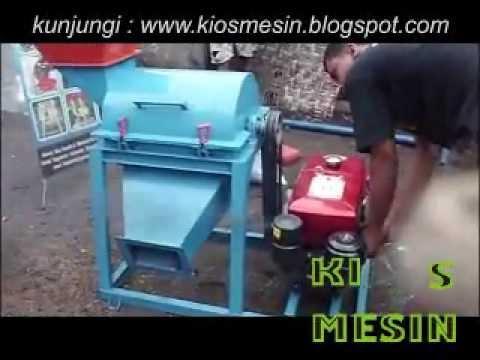 mesin penggiling kotoran hewan / Mesin penghancur kotoran hewan  (kohe )