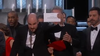 Oscars Mistake: Moonlight Wins Best Picture after La La Land Mistakenly Announced