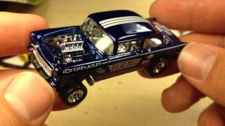 Hot Wheels 2014 F Case Super 55 Chevy Bel Air Gasser And