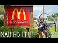 Flying To McDonalds On My Paramotor