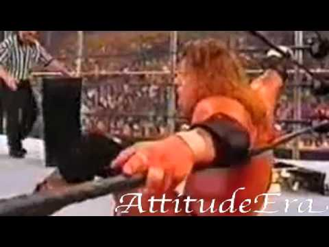 WWE JUDGMENT DAY 2002 Chris Jericho vs Triple h (HELL IN A CELL MATCH)