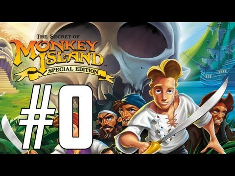 THE SECRET OF MONKEY ISLAND #0: TUTTI A BORDO CON TIZIOBRUSH