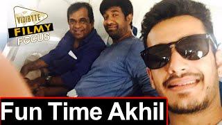 Akhil Enjoying Thai Trip With VV Vinayak