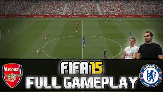 Fifa 15 FULL Gameplay Arsenal London Vs. Chelsea FC