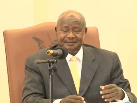 Museveni signs Anti homosexuality Law Feb 2014