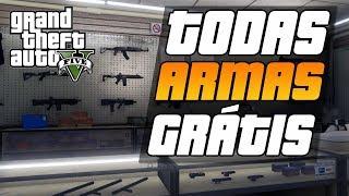 GTA V DICAS LOCALIZAÇÃO DE ARMAS GRÁTIS NO GTA 5