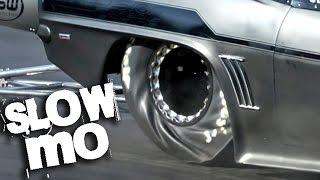 SLOW MOTION Drag Racing
