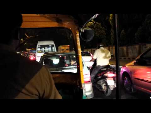 Bangalore, India Rickshaw ride
