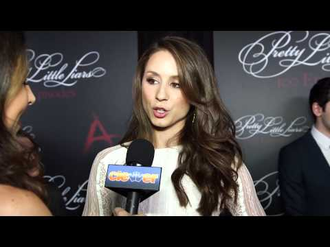 Troian Bellisario Interview: Pretty Little Liars 100th Episode Party