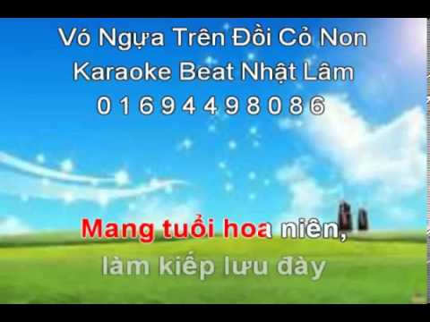 Vo Ngua Tren Doi Co Non Nhac Song YouTube