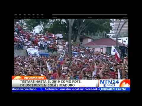 Maduro asegura que la oposición olvidó a Leopoldo López porque