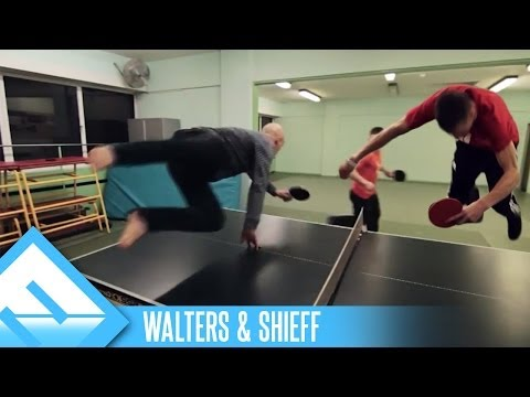Epic Speed Pong! | Walters & Shieff (ep. 3)