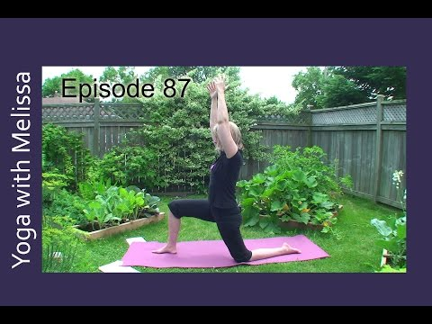 Namaste Yoga 87 Yoga Stories Virabhadrasana with Dr. Melissa West