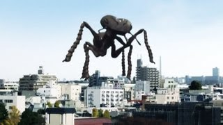Earth Defense Force 3 Portable : Japanese Live Action Commercial