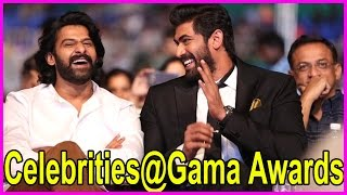 Celebrities @ GAMA Awards 2016 Highlights - Prabhas , Rana , Tamanana