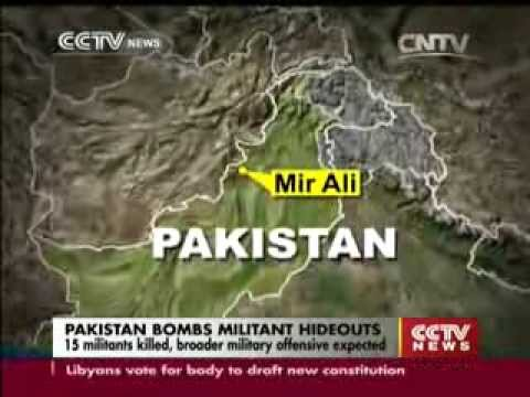 30 Killed as Paki-Punjabi Jets Bomb Pashtun Civilians in N Waziristan in Name of Militants