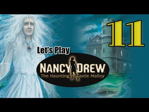 Nancy Drew 19: Haunting of Castle Malloy [11] w/YourGibs - PRINTING PRESS PUZZLE JETPACK NANCY
