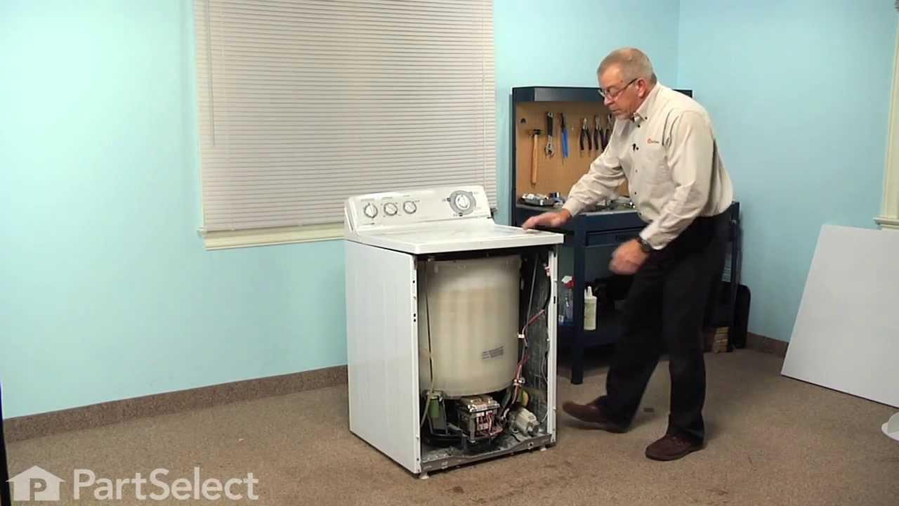 ge washing machine leaking from bottom