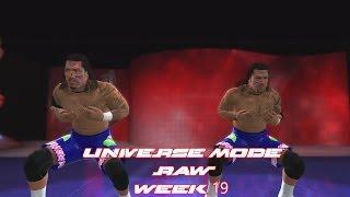WWE 2K14 Universe Mode RAW Week 19 John Cena & The