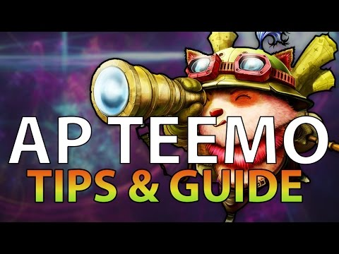 League of Legends: Teemo AP Guide & Tips! 2016 s6!