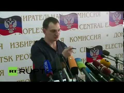 LIVE Referendum on the region's status to be held in Donetsk Press Conference
