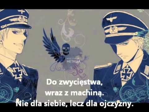 Hetalia Germany Sabaton- Wehrmacht (napisy PL)
