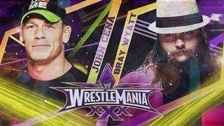 WWE Wrestlemania 30 John Cena Vs Bray Wyatt Full Match