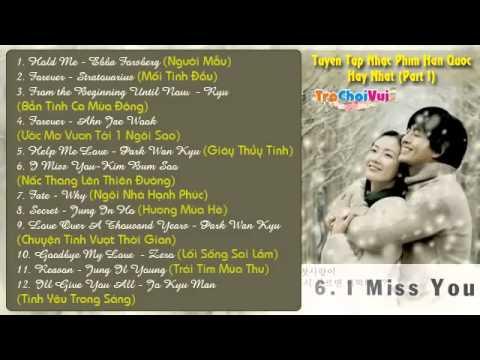 Tuyển tập nhạc phim Hàn Quốc hay và lãng mạn nhất 2013 Part 1