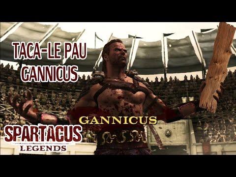 Spartacus Legends - Taca le pau GANNICUS!