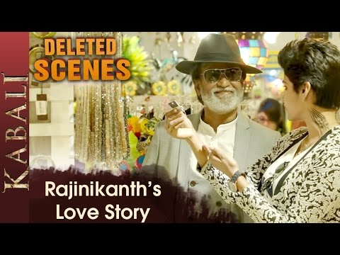 Kabali expresses his love for Kumuthavalli Kabali Deleted Scenes Dhanshika Radhika Apte