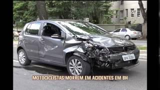 Moto bate em carro e motociclista morre na Avenida do Contorno no Bairro Gutierrez
