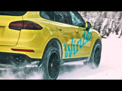 Porsche Winter Off-Road Festival