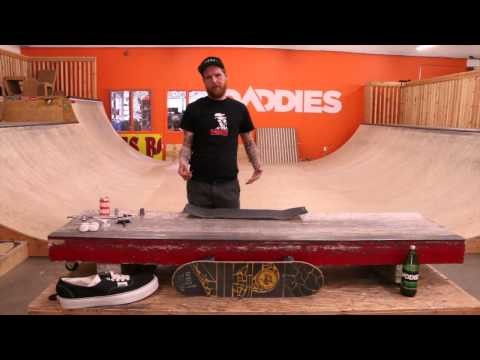 How to Grip a Skateboard