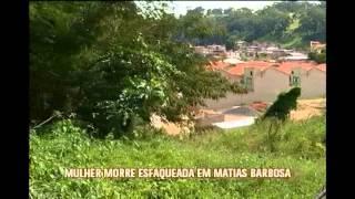 Mulher � morta a facada pelo marido em Matias Barbosa