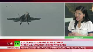 'Precautionary measure': Australia halts air strikes in Syria following US downing of Syrian jet