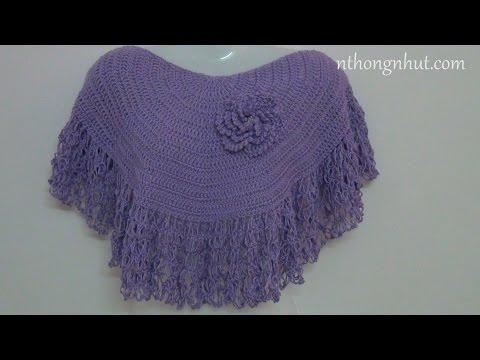 Hướng dẫn cách móc áo choàng len