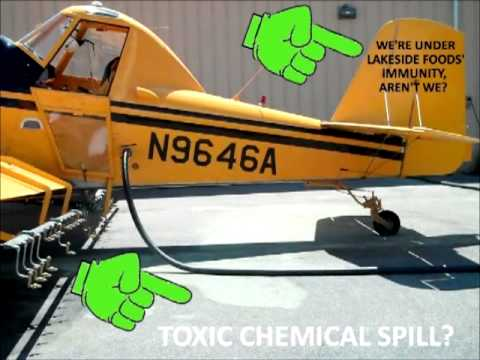 Lion News: Evidence Belgrade's Chief Bjork Falsifying Report For Lakeside Foods' Spray Plane? Part 4