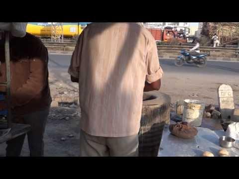 Roadside Eatery in India