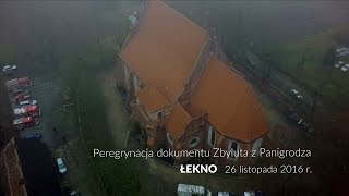 Dokument Zbyluta po ponad 850 latach wrócił do źródeł, czyli do Łekna. To właśnie tutaj w 1153 roku komes