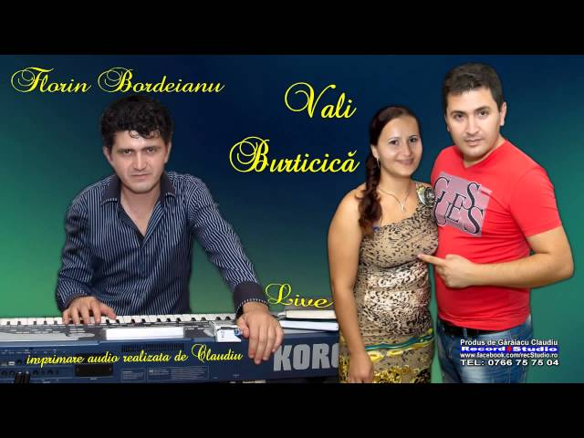 Vali Burticica Colaje Sirba LIVE la Botez Fabian -Audio-Video-Claudiu Record Studio