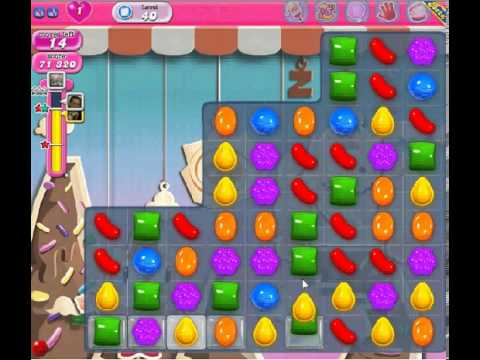 How to beat Candy Crush Saga Level 40 - 3 Stars - No Boosters - 99