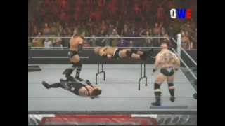 WWE Smackdown Vs. Raw 2011 Goldberg Vs. Undertaker Vs. HHH