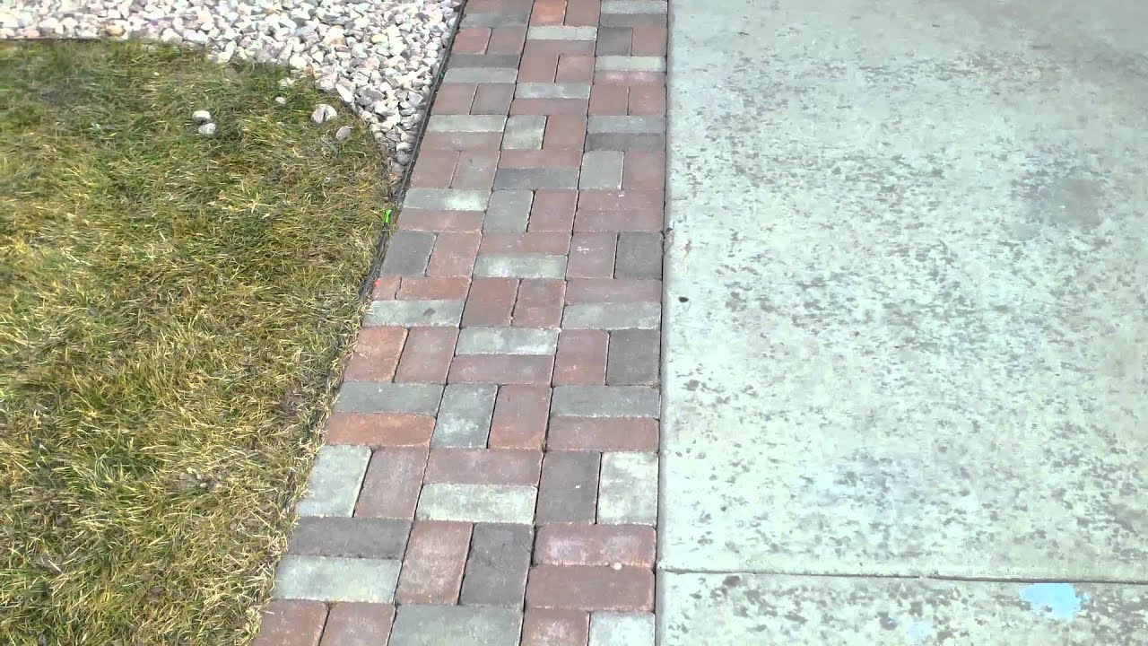 ... Cheapest Patio Pavers By Paver Driveway Extension In Colorado Youtube  ...