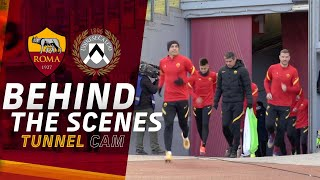 BEHIND THE SCENES 👀? | Roma v Udinese | Tunnel CAM 2020-21
